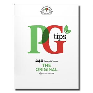 PG Tips English Black Tea Bags 240's