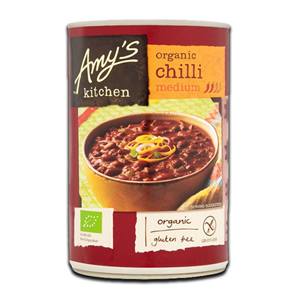 Amy's Kitchen Chilli Organic Medium 416g