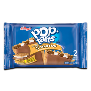 Kellogg's Frosted S'mores Pop tarts 2' 104g