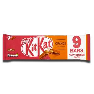 Nestlé Kit Kat Orange 9x2 Fingers