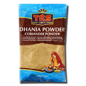 TRS Dhania Coriander Sementes Coentros em Pó 100g