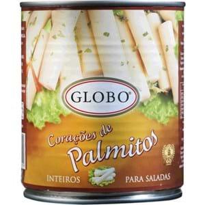 Globo Palmitos 400g