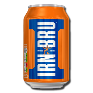 Barrs Irn Bru Can 330Ml