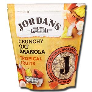 Jordans Crunchy Tropical Fruits 750g