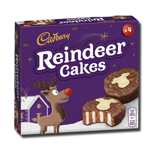 Cadbury Reindeer Cakes 152g