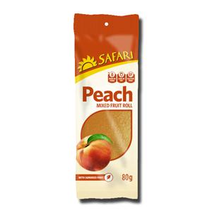 Safari Fruit Rolls Peach 80g