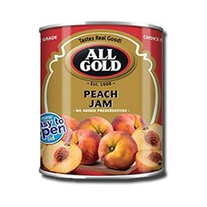 All Gold Smooth Peach Jam 450g