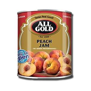 All Gold Smooth Peach Jam 450g