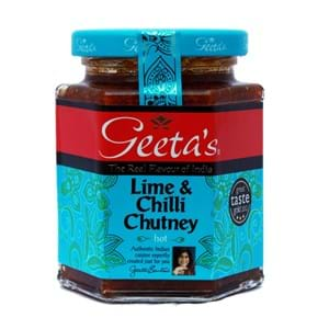 Geeta's Lime and Chilli Chutney 310g