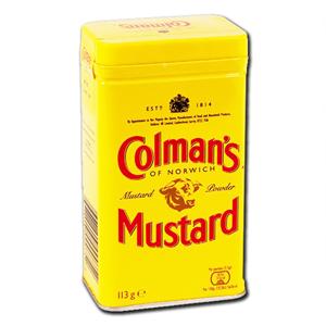 Colmans Eng Mustard Powder 113g