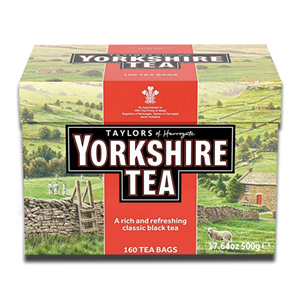 Taylors Yorkshire Teabags 160'S