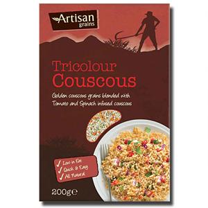 Artisan Grains Couscous Tricolour 200g