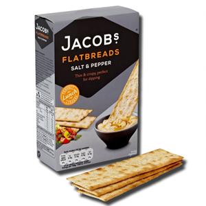Jacob's Salt & Pepper Flatbreads 150g