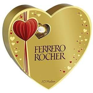 Ferrero Rocher Heart Valentine Box 125g