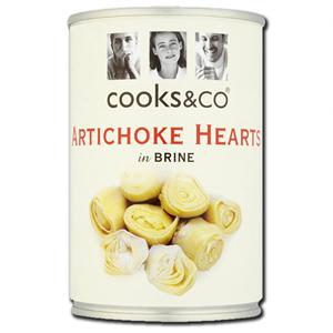 Cooks & Co Artichoke Hearts in Brine 390g