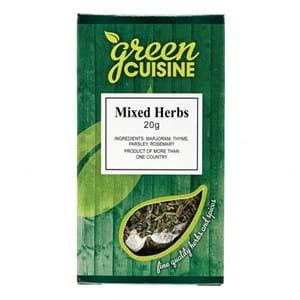Green Cuisine Mixed Herbs 20g
