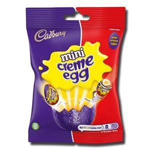 Cadbury Chocolate Mini Eggs Creme Bag 78g