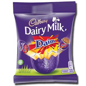 Cadbury Chocolate Mini Eggs Daim Bag 77g