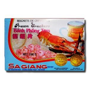 Sagiang Prawn Crackers - Ostias Camarão 200g