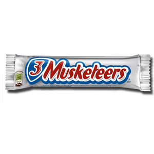 3 Musketeers Chocolate 54g