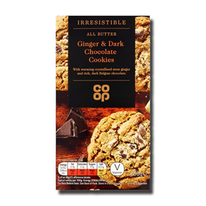 Coop All Butter Ginger & Dark Chocolate Cookies 200g