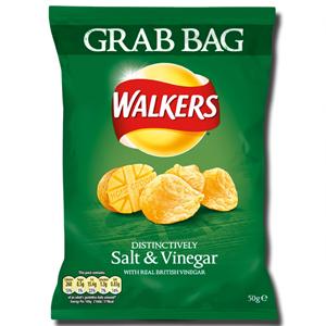Walkers Crisps Salt Vinegar 50g