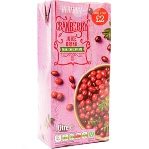 Heritage Cranberry 1L