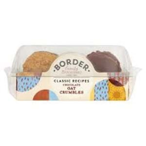 Border Chocolate Oat Crumbles 150g