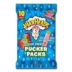 Warheads Pucker Packs 84g