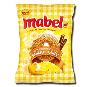 Mabel Rosquinha Banana Canela 350g