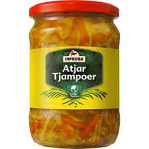 Inproba Atjar Tjampoer (Sweet Sour Vegetables) 530g