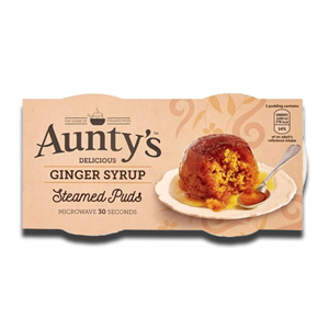 Aunty's Steamed Pudding Ginger Syrup 2x100g