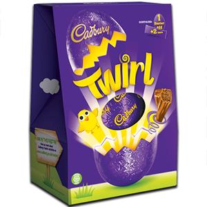 Cadbury Twirl Egg 237g