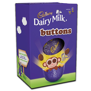 Cadbury Buttons Egg 74g