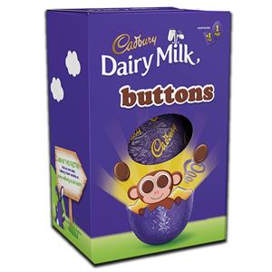 Cadbury Buttons Egg 74g
