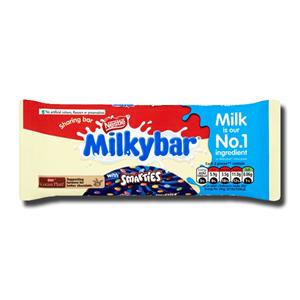 Nestlé Milkybar with Smarties 100g