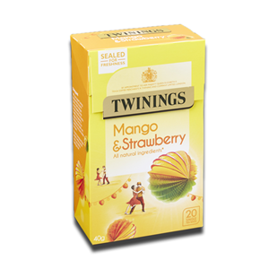 Twinings Strawberry & Mango 20's