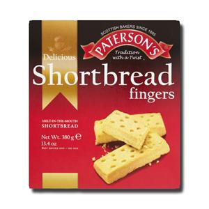 Paterson's Shortbread Fingers 380g