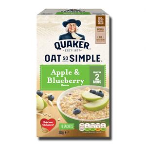 Quaker Oat So Simple Apple & Blueberry 360g