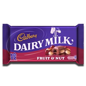 Cadbury Dairy Milk Fruit & Nut 110g