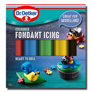 Dr. Oetker RegalIce Coloured Ready to Roll 5x 100g