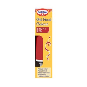 Dr. Oetker Gel Food Colour Red 15g