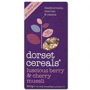 Dorset Luscious Berries & Cherries 600g