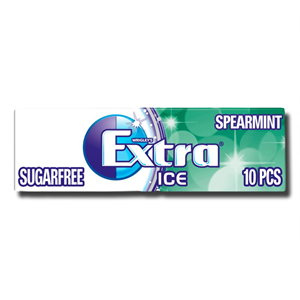 Extra Ice Spearmint Sugar Free Gum