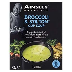 Ainsley Harriott Cup Soup Broccoli & Stilton 72g