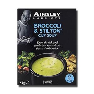 Ainsley Harriott Cup Soup Broccoli & Stilton 72g