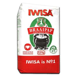 Iwisa Braai Pap 2,5Kg
