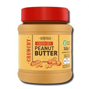 Heritage Crunchy Peanut Butter 340g