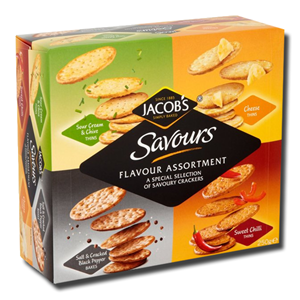 Jacob's Savours Assortment 250g