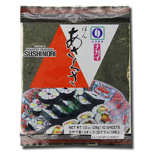 JHFOODS Sushi Nori 10's Roasted Seaweed 28g